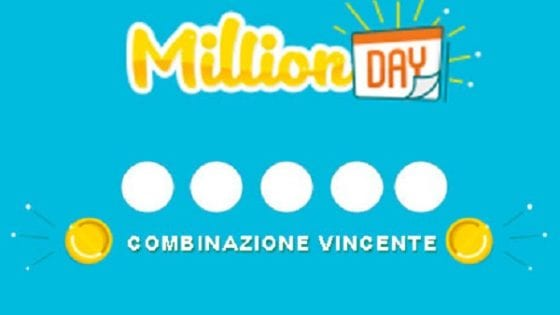 Million Day, l'estrazione di domenica 28 giugno