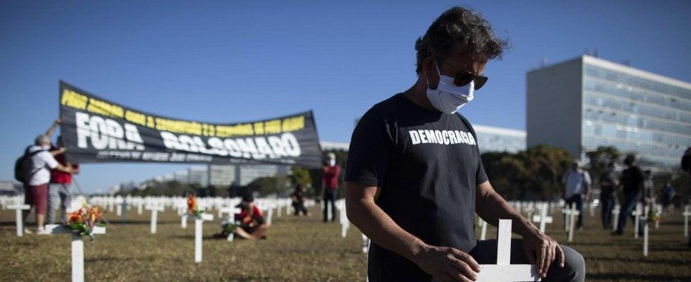 Coronavirus nel mondo: frena il Brasile, è nuovo allarme in Corea del Sud