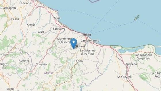 Terremoto di magnitudo 3.5 a Montecilfone