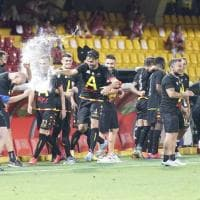 Benevento, la festa per il ritorno in Serie A