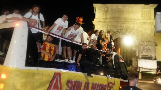 Benevento in festa, pronto il piano per restare a lungo in Serie A