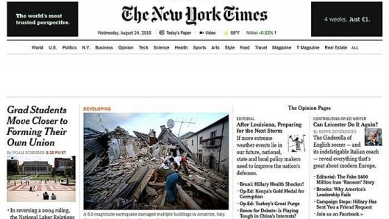Il New York Times rinuncia ad Apple News: contenuti rimossi