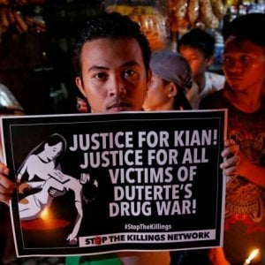 Filippine, Manila: almeno 122 bambini sono stati uccisi nella dissennata guerra di Duterte alla droga