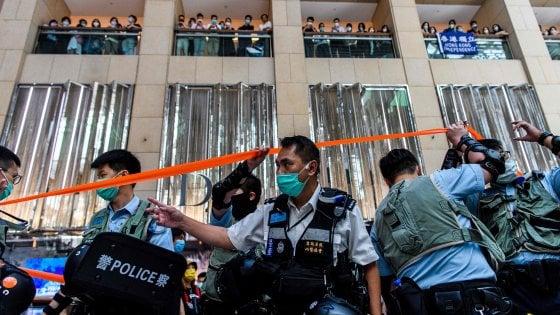 Hong Kong, in vigore la legge sulla sicurezza: pene fino all'ergastolo