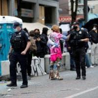 Usa, la polizia sgombera la zona occupata di Seattle