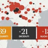 Coronavirus, il bollettino di oggi 1 luglio: 187 nuovi casi, 21 morti
