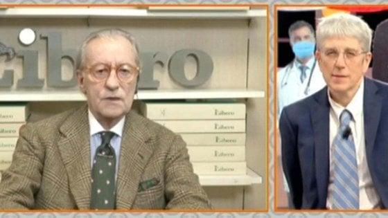 """Frasi di Feltri contro i meridionali, Agcom diffida Mediaset. Il giornalista: """"Mi riferivo alla situazione economica, non era un attacco"""""""