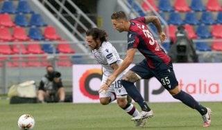 Bologna-Cagliari 1-1, Simeone risponde a Barrow