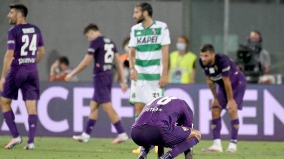 Fiorentina-Sassuolo 1-3, Defrel e Muldur affondano i viola