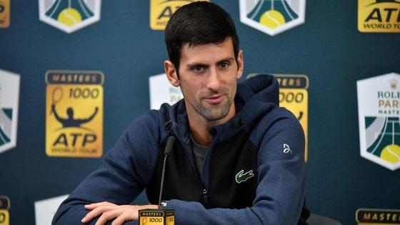 Tennis, Djokovic e la moglie negativi al test per il coronavirus