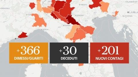 Coronavirus, il bollettino di oggi 2 luglio: 30 i morti e 201 nuovi casi in Italia