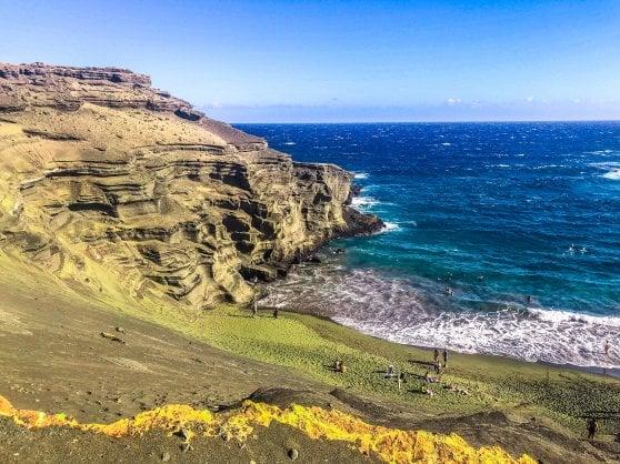 La sabbia verde che cattura l'anidride carbonica