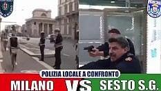 Così il sindaco di Sesto prende in giro i vigili di Milano (in monopattino)