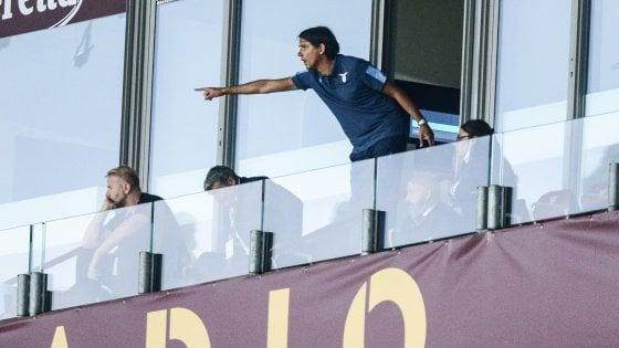 """Lazio, Inzaghi: """"Abituati all'emergenza, ma nessuno ha giocato due gare in tre giorni come noi"""""""
