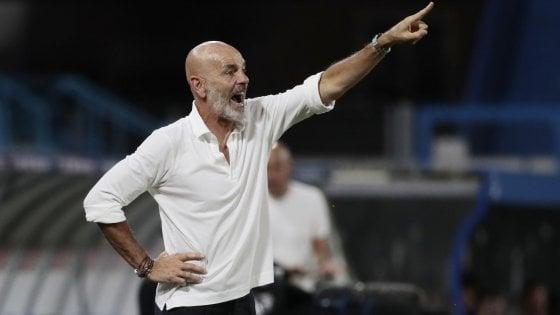 """Milan, Pioli: """"Compatti e cinici, così possiamo battere la Lazio"""""""