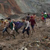 Myanmar, è salito a 162 il numero delle vittime dopo il crollo nella miniera di giada:...