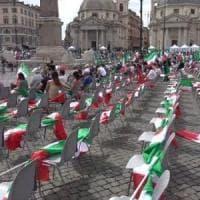 Il Centrodestra in piazza a Roma rispetta le regole. Leader uniti nella difesa di...