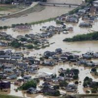Giappone, piogge torrenziali: 14 morti in una casa di riposo