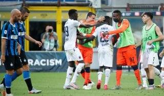 Inter-Bologna 1-2: non basta Lukaku, Juwara e Barrow stendono i nerazzurri