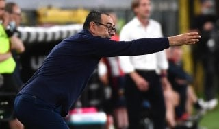 """Juventus, Sarri: """"Higuain è l'unico con cui litigo, ma gli fa bene"""""""
