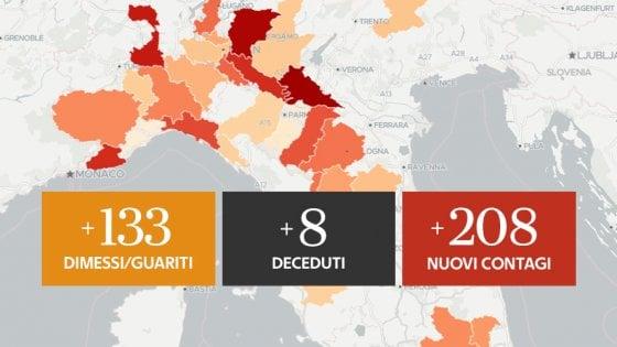 Coronavirus, il bollettino di oggi 6 luglio in Lombardia: 3 morti e 111 nuovi positivi. Salgono i casi a Cremona e Mantova