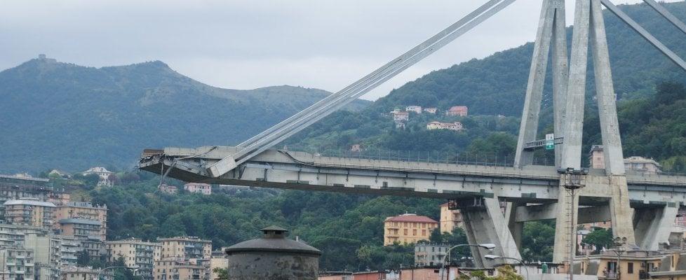 Anac, Autostrade ha investito solo 33 mila euro all'anno per la sicurezza del ponte Morandi