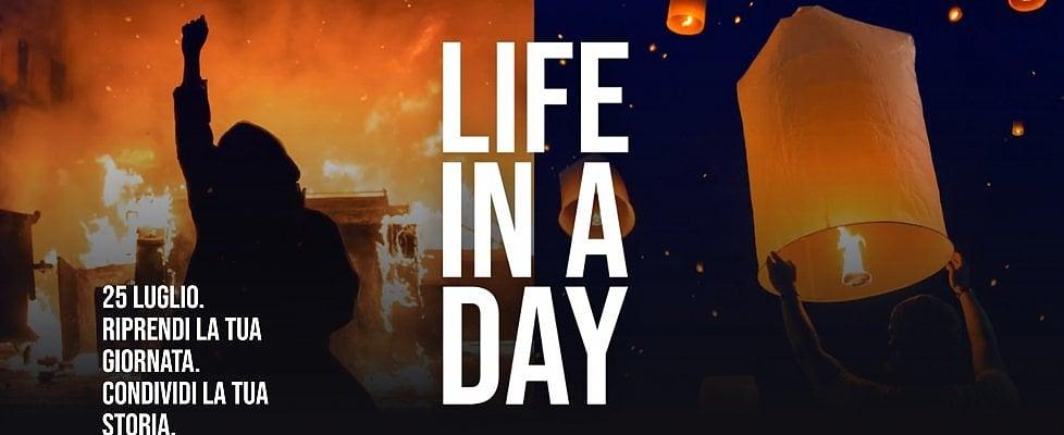 """YouTube chiama a raccolta i videoamatori per """"La vita in un"""