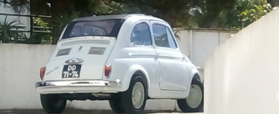 Fiat 500, spunta in Portogallo una rarissima prima serie
