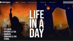 YouTube chiama a raccolta i videoamatori per La vita in un giorno 2020