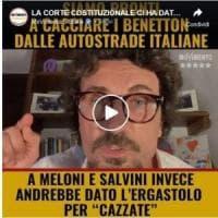 """Toninelli senza freni: """"Salvini squallido, alle riunioni su Aspi se la faceva sotto. A..."""