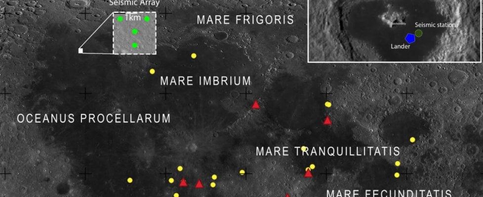 L'idea: ascoltare le onde gravitazionali dalla Luna. Lì c'è meno rumore