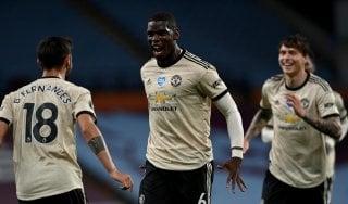 Premier League, lo United batte l'Aston Villa e vede la Champions. Pareggia il Tottenham