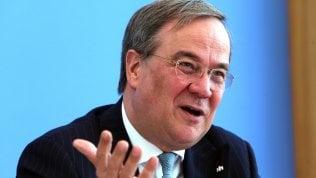 """Laschet: """"L'Italia usi il Recovery Fund per fare le riforme"""""""