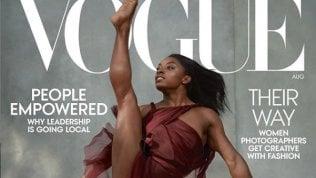 Simone Biles sulla cover di Vogue: la prima afroamericana dopo il mea culpa di Anna Wintour