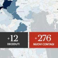 Coronavirus, il bollettino di oggi 10 luglio: salgono i contagi, 276  più di ieri. Dodici...