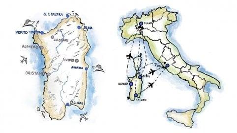 Sardegna, racconto dall'isola ostaggio di trasporti e pandemia