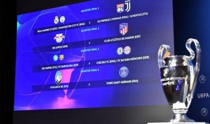 Real o City se la Juve passa, Chelsea o Bayern per il Napoli. Atalanta-Psg