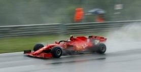 Gp Stiria, pole di Hamilton sotto la pioggia. Ferrari:  10° Vettel, 11° Leclerc