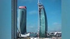 Undici anni in 30 secondi: la costruzione dei tre grattacieli di CityLife