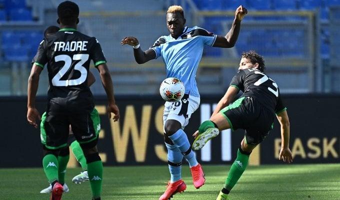 Lazio-Sassuolo  1-0 : segui la gara in diretta