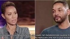 """Jada Pinkett al marito Will Smith: """"Ho avuto una storia col cantante Alsina"""""""