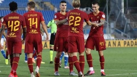 La serie A in diretta. La Roma vince 3-0 a Brescia E Zaniolo ritrova il golLazio in caduta libera: il Sassuolo vince 2-1alle 21:45 Juve-Atalanta