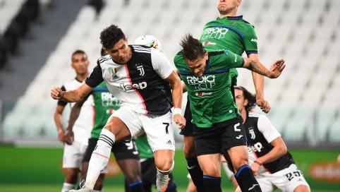 La serie A in diretta.Juventus-Atalanta 1-1La Roma vince 3-0 a Brescia E Zaniolo ritrova il golLazio in caduta libera: il Sassuolo vince 2-1