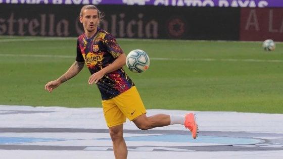 Barcellona: Liga finita per Griezmann, potrebbe saltare il Napoli