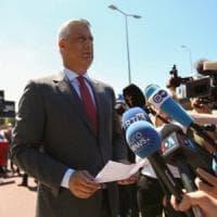 Kosovo, il presidente Thaci all'Aja per rispondere alle accuse di crimini di guerra