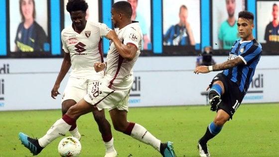 Inter-Torino 3-1: Young, Godin e Lautaro firmano l'aggancio al secondo posto