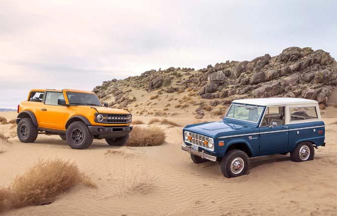 Ford Bronco, il ritorno di un classico
