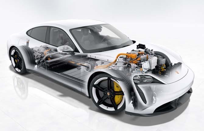 """Porsche Taycan nominata """"Automobile più innovativa al mondo"""""""