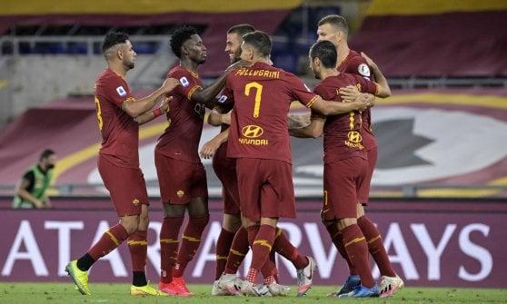 Diretta Roma Inter 2 2 De Vrij Gol E Autogol Poi Mkhitarian E Lukaku La Repubblica
