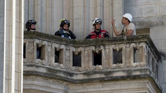 112350671 e76aacad c8a9 4ee3 b99a 9463a059a3f8 - Bruciò la cattedrale di Nantes, uccide il prete che lo aveva difeso